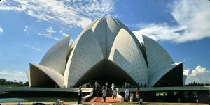 معبد نیلوفر آبی هند