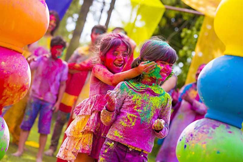جشن رنگ های هند تور جشن رنگ های هند