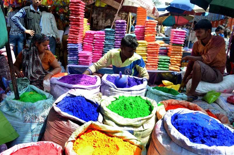 جشن رنگ های هند جشن هولی