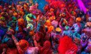هولی جشن رنگ های هند